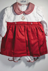 Will' Beth Baby Girl 2 pc Christmas Outfit