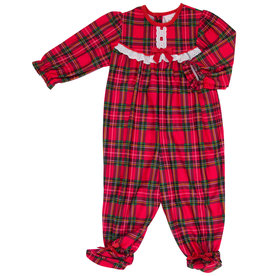 Laura Dare Christmas Footed PJ's