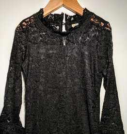 ML Fashions Dressy Lace Fashion Top