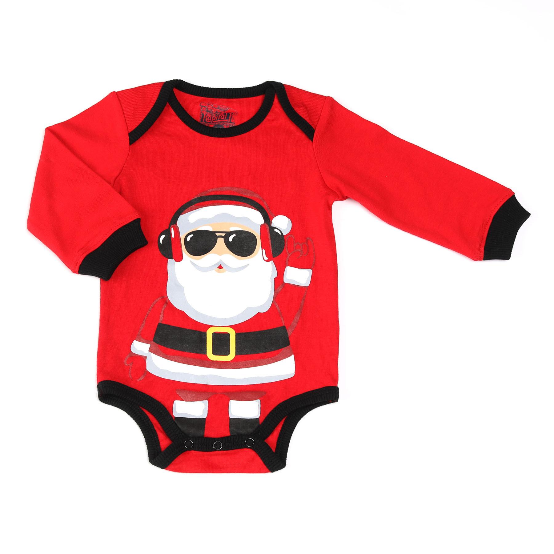 Kapital K Baby Santa Claus Bodysuit