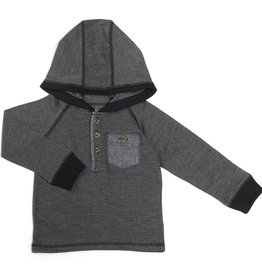 Kapital K Herrington Hoddie w/Chambray Pocket