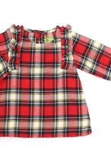 Kapital K Plaid Flannel Ruffled Dress