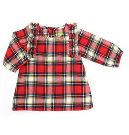 Kapital K Plaid Flannel Ruffled Dress