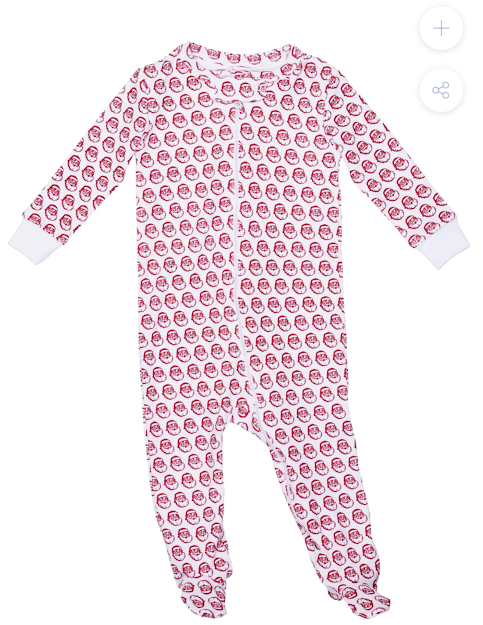Lila+Hayes Zippered Footed PJ's
