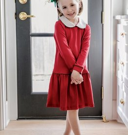 Lila+Hayes Long Sleeve Christmas Dress