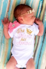 Rocking Royalty Baby Embroidered Onesie