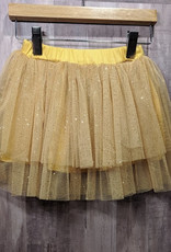 Haven Children Girl's Double Ruffle Tutu Skirt