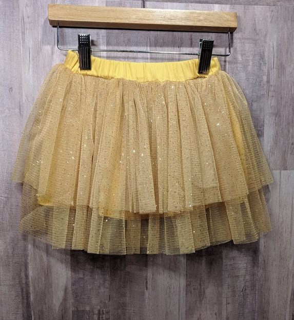 Haven Children Girl's Double Ruffle Tutu Skirt