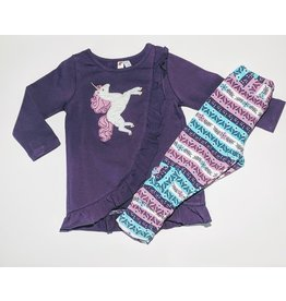 Globaltex Girl's Baby and Toddler 2 pc Set