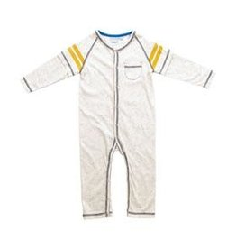 Bear Camp Boy's L/S Romper