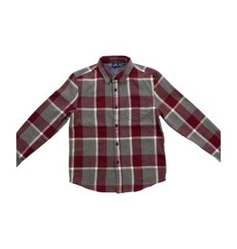 Bear Camp Boy's L/S  Flannel Shirt