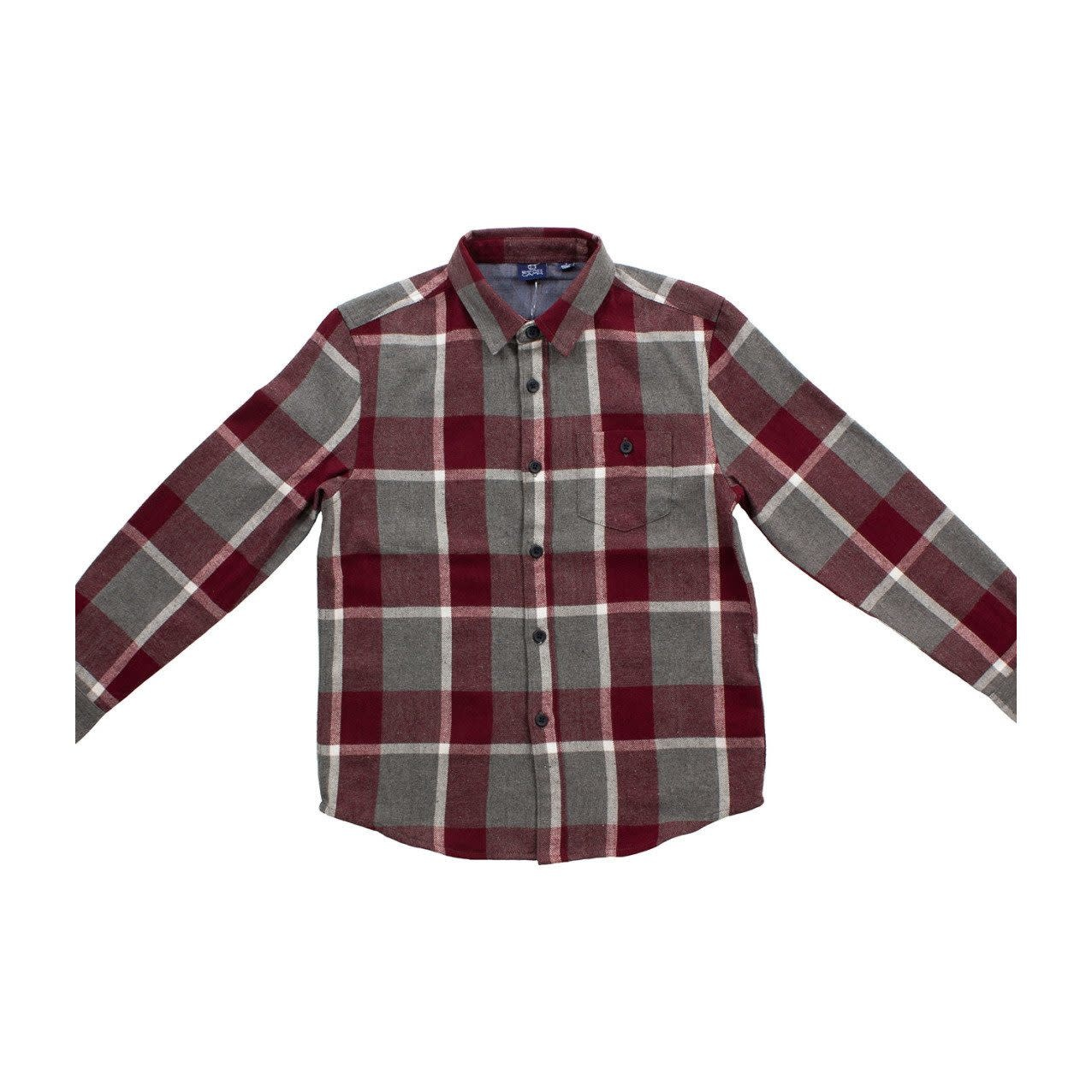 Bear Camp Boy's L/S Flannel Shirt