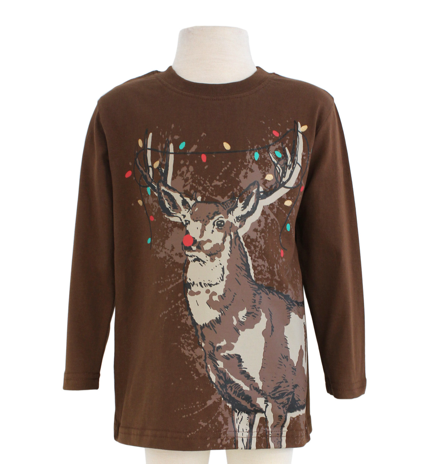 Globaltex Boy's L/S Christmas Tops