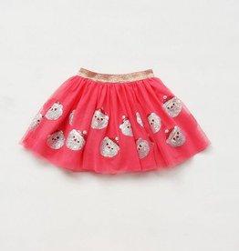 Tulle Sequined  Santa Skirt