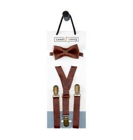 Sweet N Swag Baby/Toddler Bow Tie/Suspenders