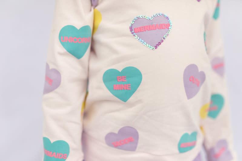 Haven Children Girl's Valentines Tops