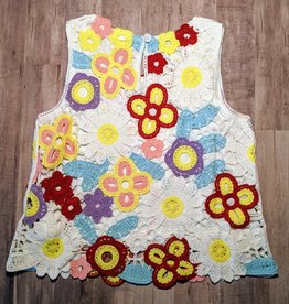 Love Daisy Tween Crochet Tank Top