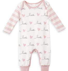 Tesa Baby Baby Valentines L/S Coverall