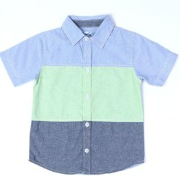 Kapital K Kapital K Baby Boy Button-Up S/S Shirt