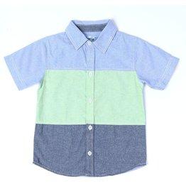 Kapital K Kapital K Baby Boy Button-Up S/S Shirt