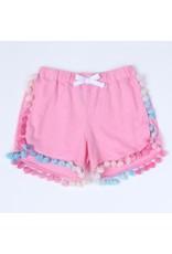 Kapital K Girls French Terry Pom Shorts