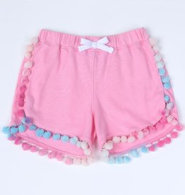 Kapital K Girls French Terry Pom Shorts