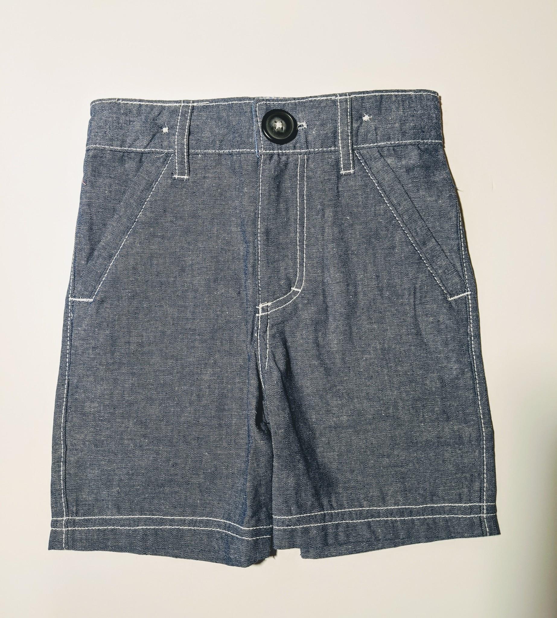 Kapital K Boy's Chambray Shorts