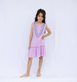 Haven Girl Teen Bohemian Ruffled Dress