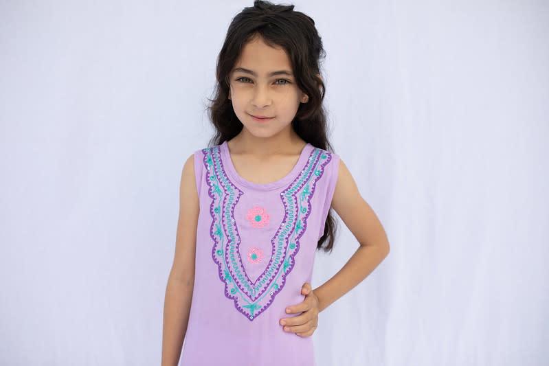 Haven Girl Teen Bohemian Ruffled Dress