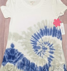 Paper Flower Teen Tunic Length Top