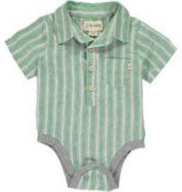 Me & Henry Baby / Toddler Woven Bodysuit