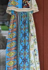 Bela & Nuni Boho Maxi Dress