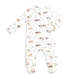 Angel Dear Angel Dear Boy's Footed PJ's