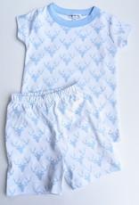Magnolia Baby Boy's Summer Pima Cotton Pj's