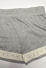 Paper Flower Tween / Teen Knit Shorts w/Lace