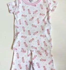 Magnolia Baby Vintage Poodle Short Pajamas