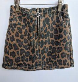 Leopard Mini Skirt