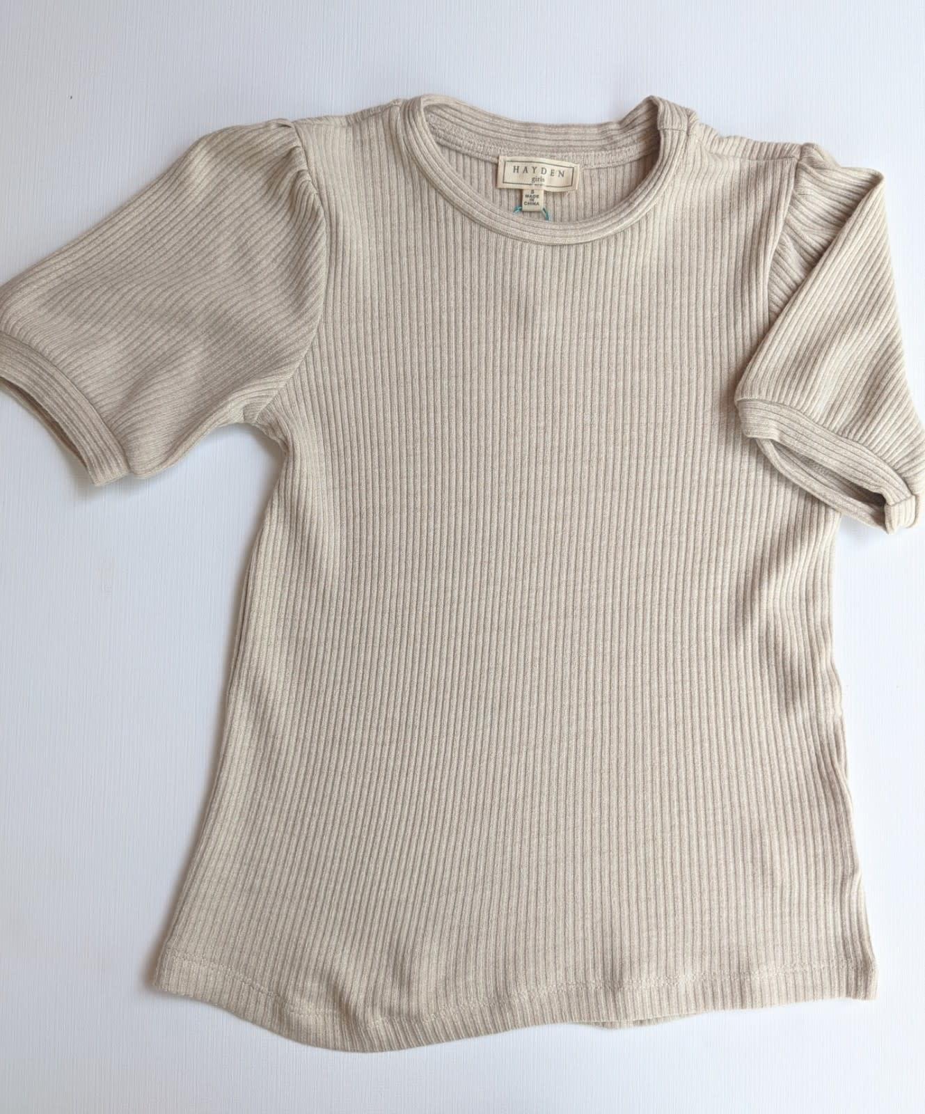 Cream Puff Sleeve Shirt