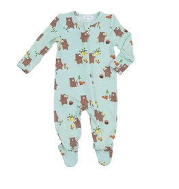 Angel Dear Boys Bamboo Footed Pj's