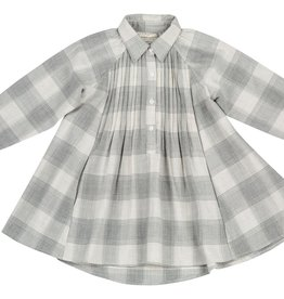 Mimi and Maggie Plaid Swing Dress
