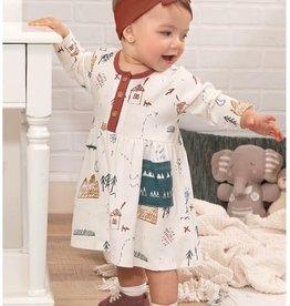 Tesa Baby Toddler Long Sleeve Dress