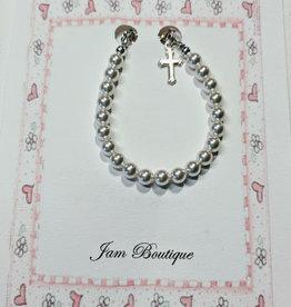 Toddler and Little Girl Pearl Bracelets