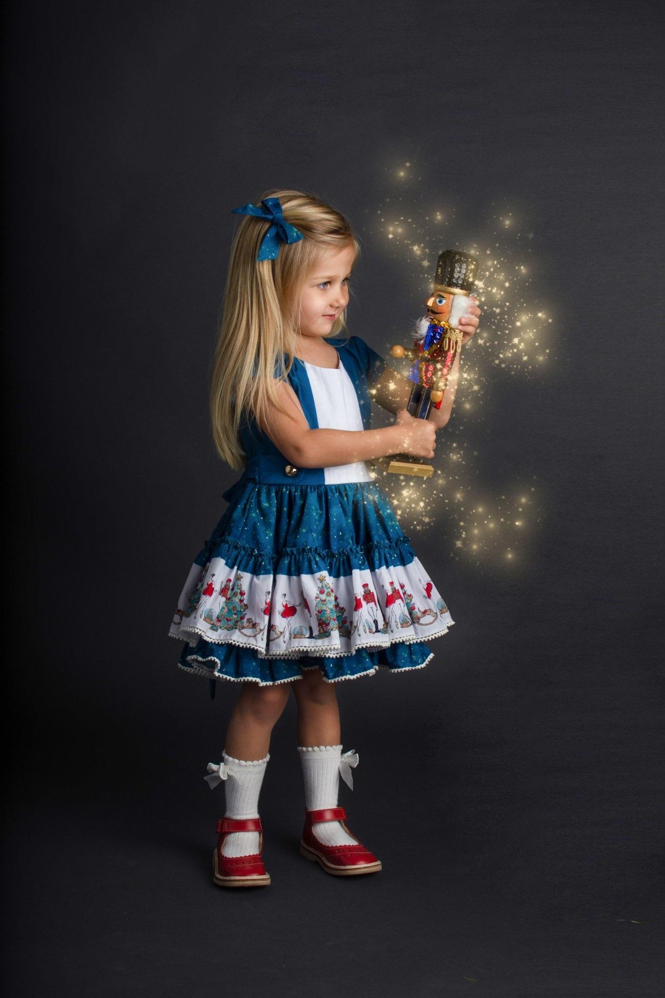 Be Girl Nutcracker Holiday Dress