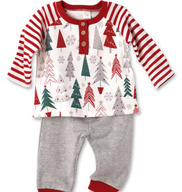 Tesa Baby Baby Boy 2 pc Christmas Outfit