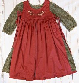 Little Prim Over Apron Dress