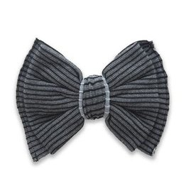 Baby Bling Baby Bling Ribbed Bow Clip