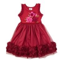 Haute Baby Haute Baby, Ruby Sparkle Toddler, Little & Big Girls Dress