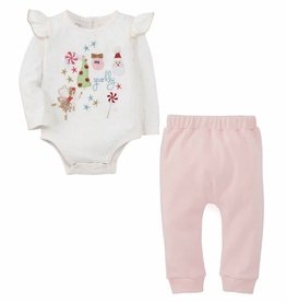 Baby Girl Christmas 2 pc Outfit