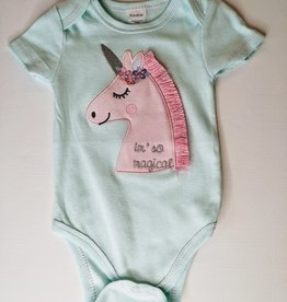 KavKas Baby Girl Cotton Onesie