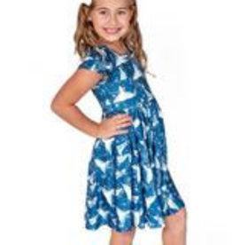 Charlie's Project Short Sleeve Hugs Twirl Dress